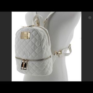 BEBE Danielle Quilted Mini Backpack
